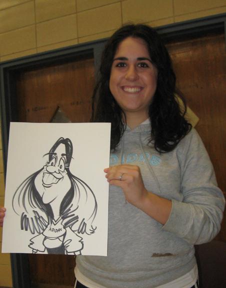 caricatures by Jordan