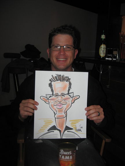 Caricatures by Angie Jordan