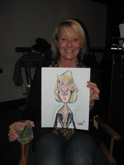 Angie jordan Caricatures