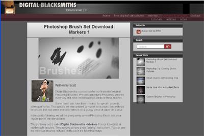tutorial by Digital Blacksmiths