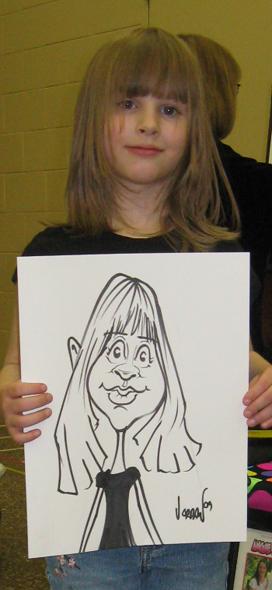 Angie Jordan's Caricatures
