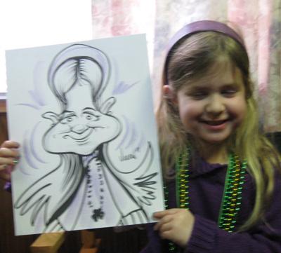 Angie Jordan's Birthday Cartoons