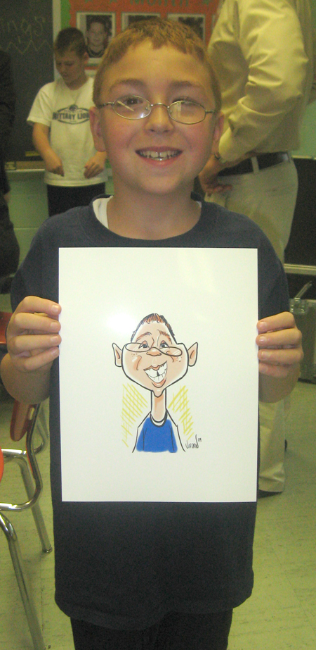 Live Digital Caricatures with Angie Jordan