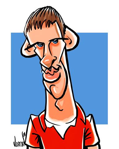 digital caricature by angie jordan