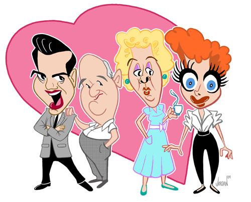 ILOVELUCY Cast-web