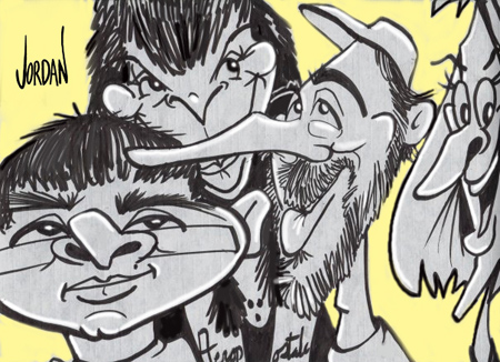 Manheim Diner Cartoon by Angie Jordan