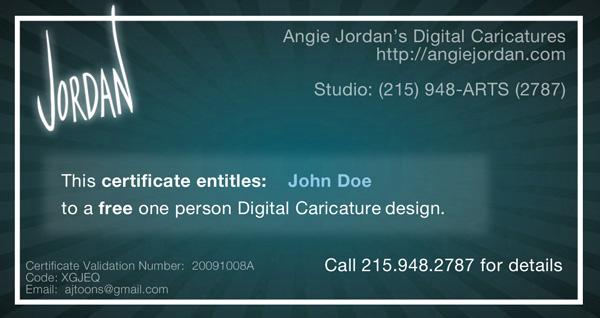 angie jordan-certificate John Doe sample