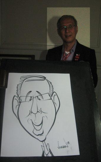 Angie Jordan's fun caricatures