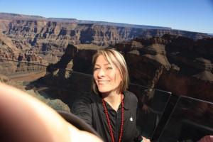 Canyon selfie