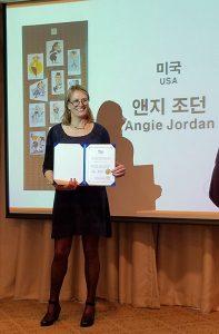 Asian Conference 2016 Award Angie Jordan